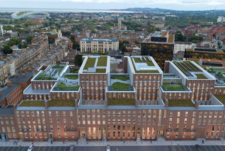 In one of last year's office mega deals, French investor and asset manager Amundi Real Estate acquired the Fitzwilliam 28 office scheme being developed in Dublin city centre for a reported €180 million