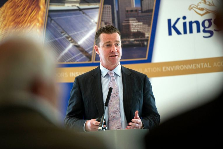 Gene Murtagh, Kingspan chief executive: demand outlook for the second half of the year is just as strong as the first half. Picture: Maura Hickey