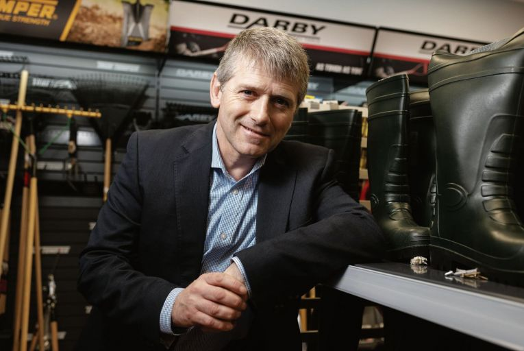 David Heffernan: 'The mentoring challenged us to look at things differently'. Picture: John Allen
