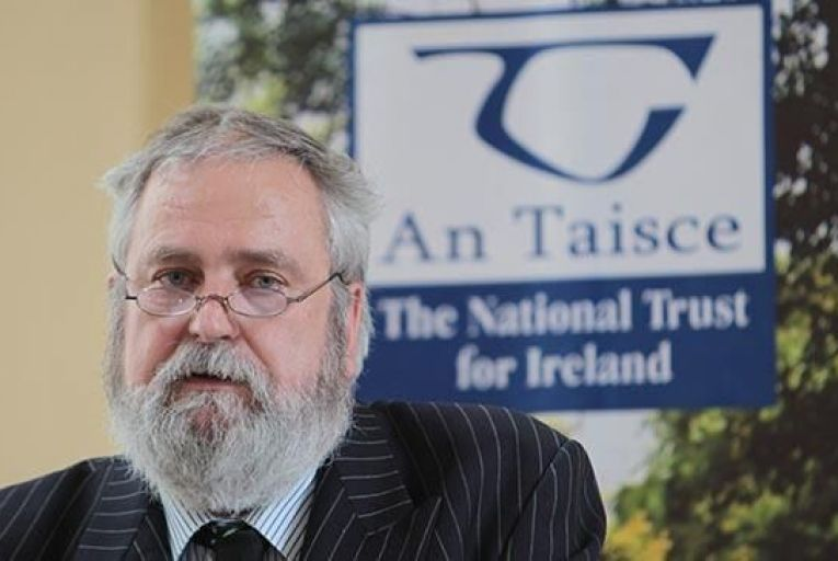 Charles Stanley Smith spokes person for An Taisce speaking in 2011 Pic:RollingNews.ie
