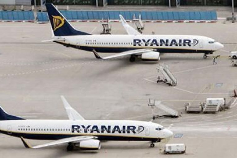 All Ryanair flights to Italy will be grounded tomorrow Pic: Getty
