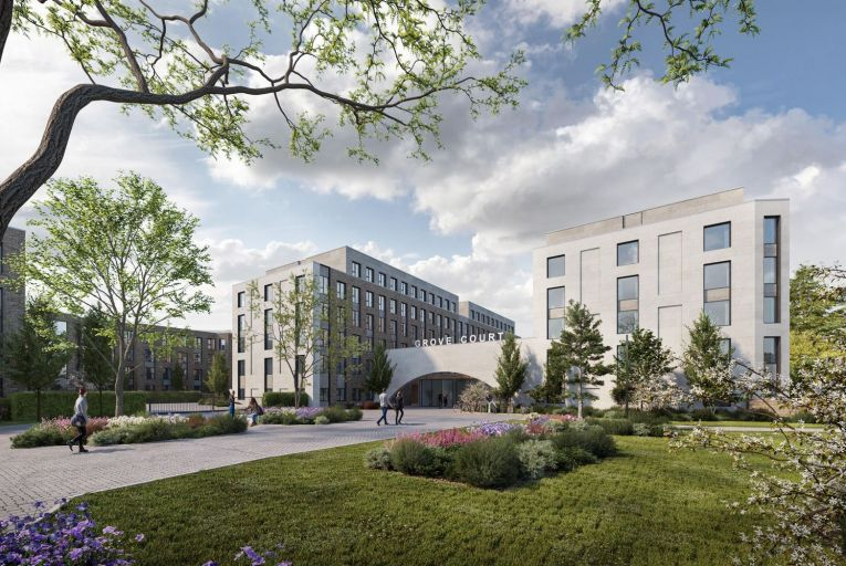 Colbeam has applied for permission to build Grove Court, student housing metres from UCD