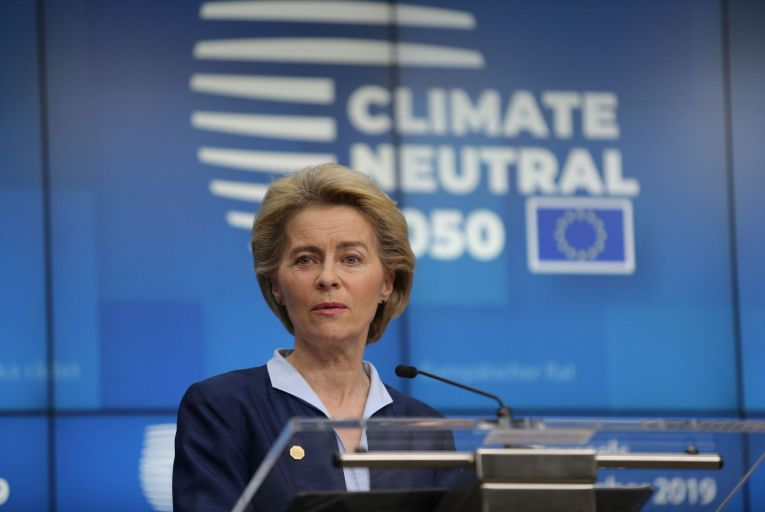 """European Commission President Ursula von der Leyen: """"Our goal is to reconcile the economy with our planet."""" Picture: Getty"""