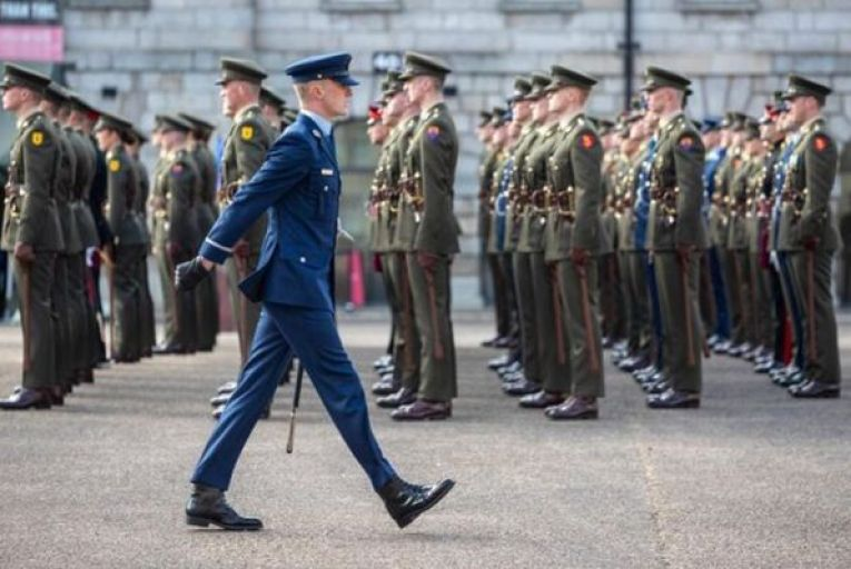 Protected protected disclosures in the military are dealt with through a joint civil and military office. Picture: RollingNews.ie