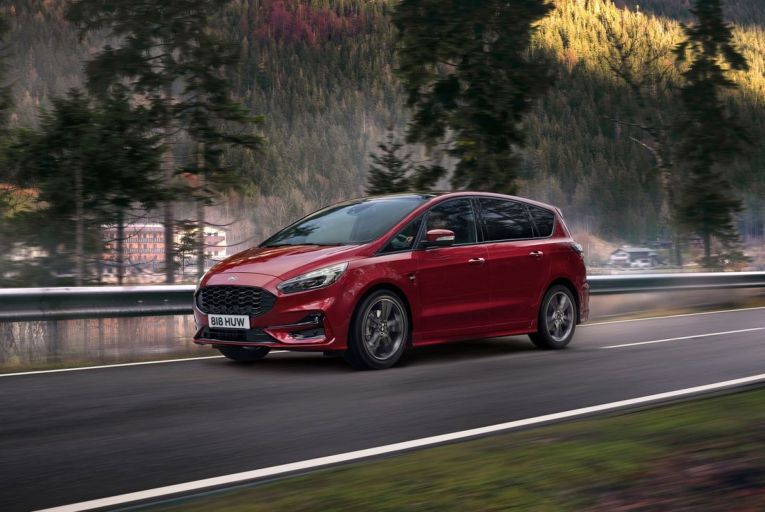 The Ford S-Max: prices starts from €43,442, with the ST-Line FHEV as tested from €48,822