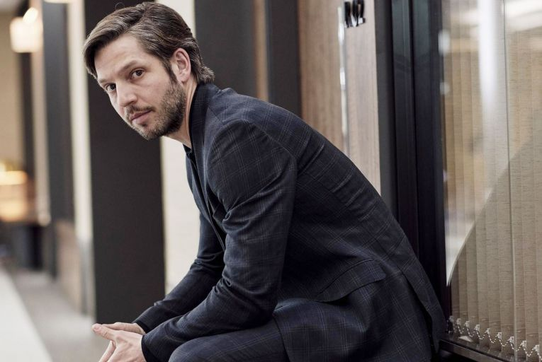 Damien Molony, star of Sky One's Brassic. The Kildare actor is making a name for himself in British TV