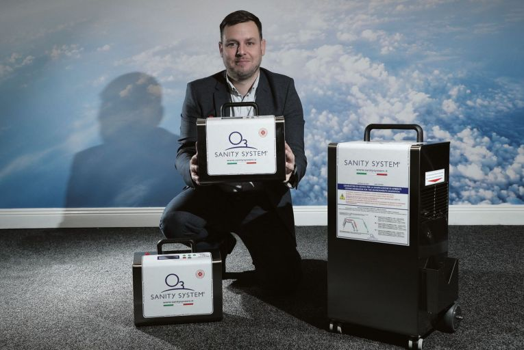 David Byrne, managing director of Sanity Systems and Product Sales Ireland and UK Limited