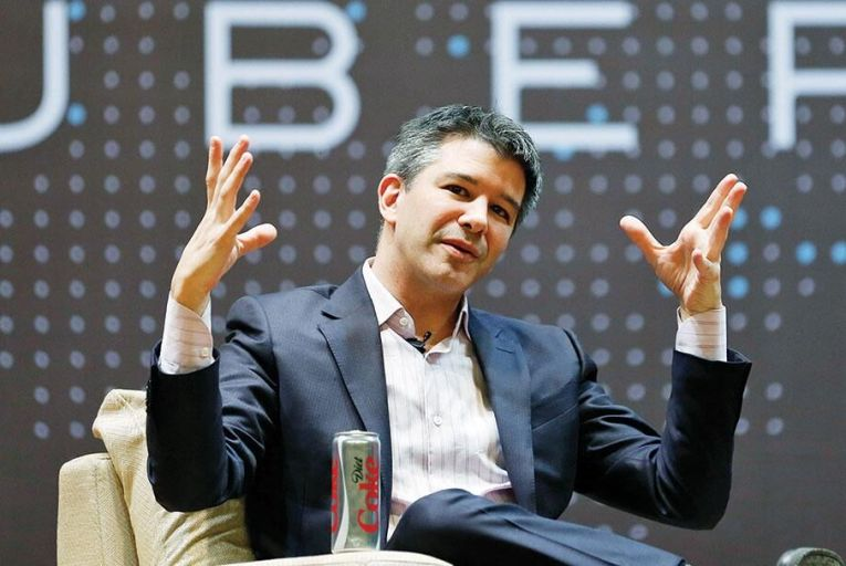 Chief executive of Uber Travis Kalanick Pic: Getty