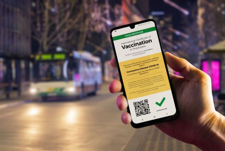 The European Data Protection Board warned that use of the EU's digital green certificate for purposes other than facilitating free movement between European countries could give rise to discrimination. Picture: Getty
