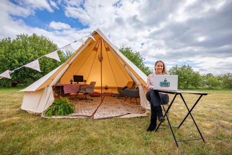 Glamping specialist aims to corner the lockdown market