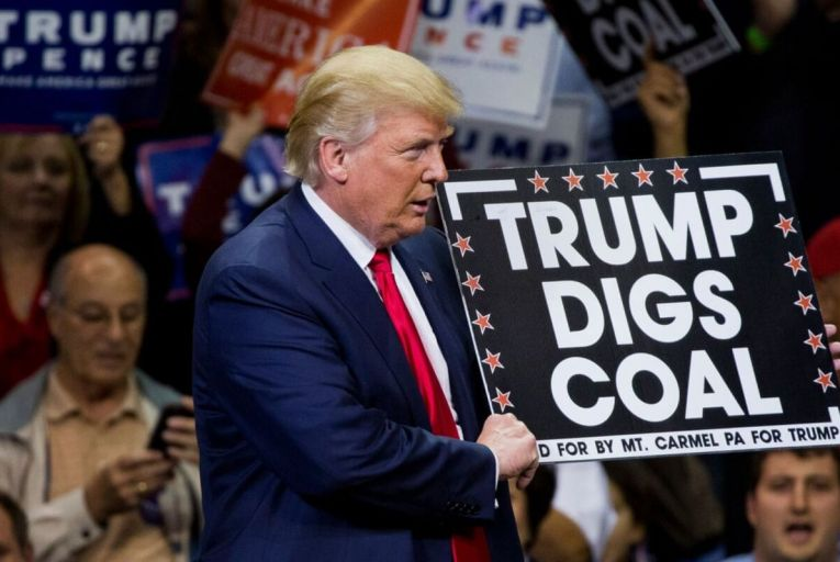 Donald Trump, the US president, has set about eliminating his predecessor Barack Obama's reforms on emissions from coal despite the fact that the coal industry had already adopted the new standards