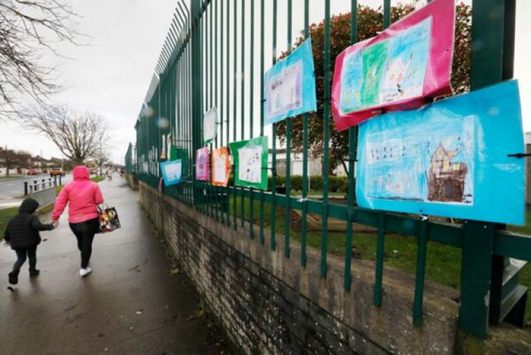 Taoiseach Micheál Martin said a proposal to keep schools closed until January 30 would be all but signed off tomorrow by the cabinet. Picture: Rollingnews.ie