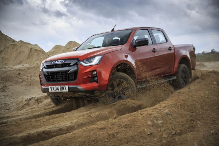 The new D-Max one-ton pick-up truck launches when the market, in terms of sales, is growing strongly