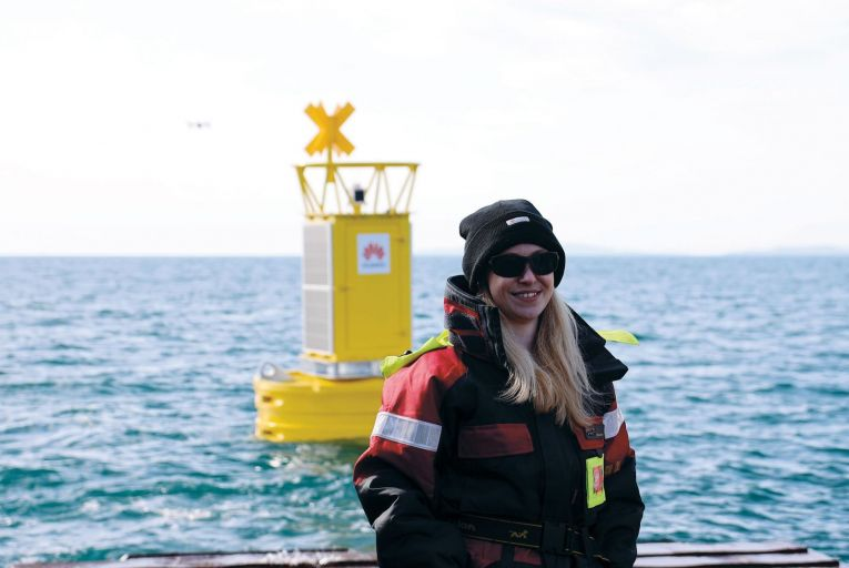 Dr Emer Keaveney, lead researcher on the Smart Whale Sounds project: 'Sound pollution causes as much damage to marine life as overfishing, pollution and climate change'