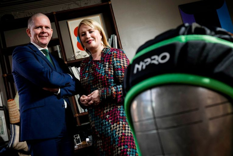 Rugby scrum cap maker gains advantage with new campaign