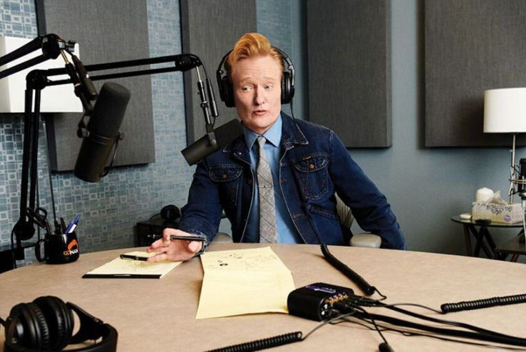 Conan O'Brien: the chat show king's new podcast is a collaboration with comedian Kenan Thompson