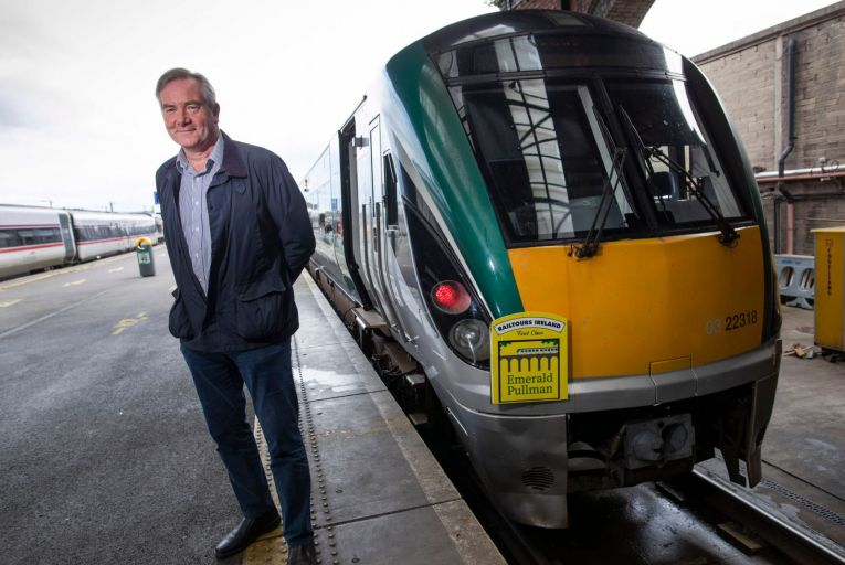 Train tour targets Irish with luxury staycationer package