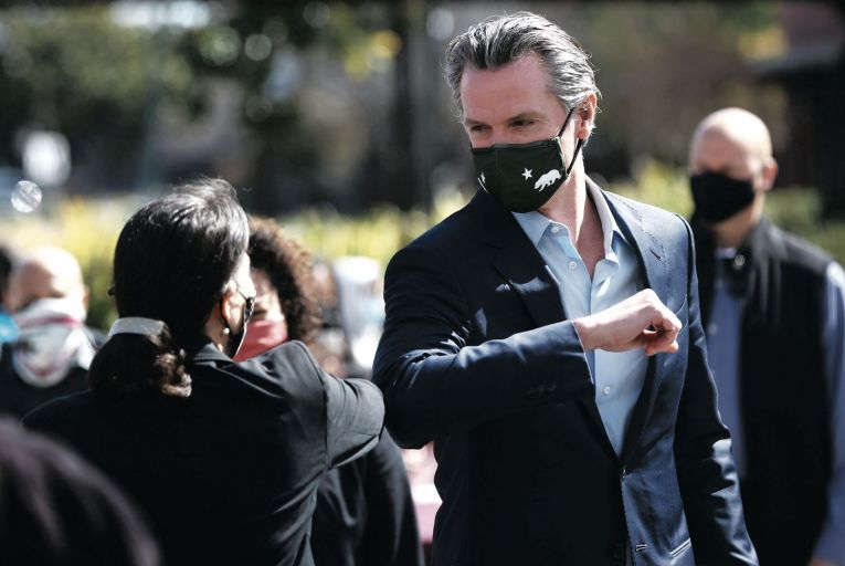 Total recall: Newsom fights to continue reigning in California
