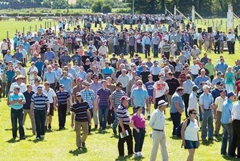Some of the attendees at the Beef 2014 event held two years ago: Teagasc is hoping for equally strong turnout this year