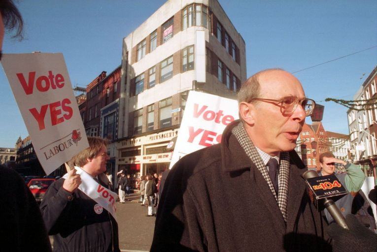Tributes paid to Mervyn Taylor, an 'icon in the struggle for equality'
