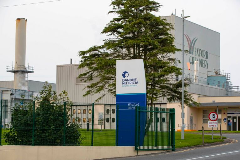 Danone is understood to have shuttered both its infant formula plants in Ireland for weeks at a time on a number of occasions this year. Picture: Patrick Browne