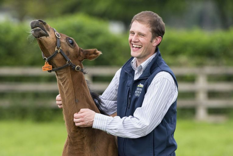 Cathal Beale, chief executive of the Irish National Stud: 'Every industry has to innovate to stay relevant.'