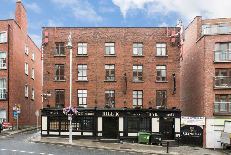 The Hill 16 pub on Gardiner Street