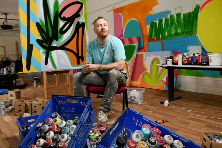 Maser interview: 'I'm doing a contemporary landscape in an abstract way'