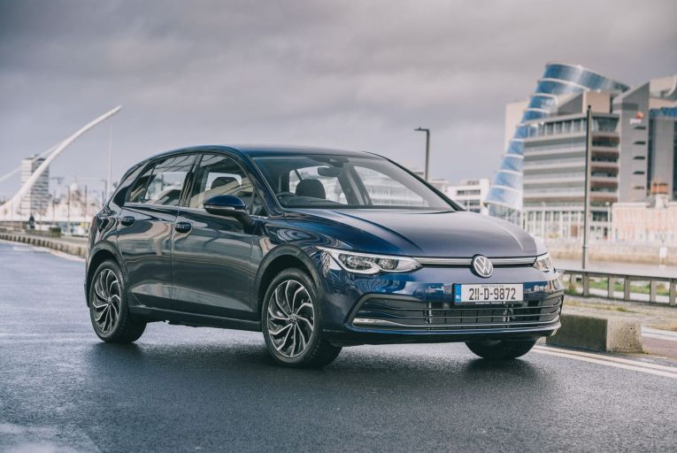 Volkswagen Golf eHybrid is priced at €37,865 before options, including the €5,000 SEAI grant