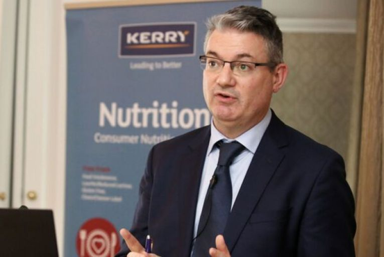 Edmond Scanlon, the chief executive of Kerry Group, said 2020 had been a unique year and the company was looking forward to returning to growth this year. Picture: Rollingnews.ie