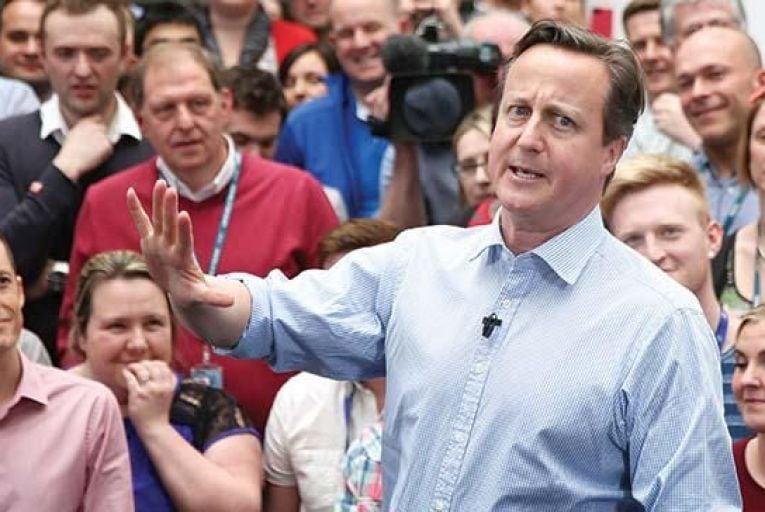 David Cameron: still challenged by EuropeGetty