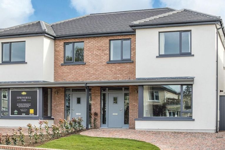 Semi-detached family homes on view in Killiney