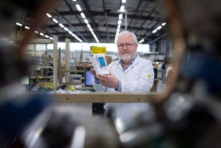 Paddy White, founder and ceo of Shimmer, says the firm's technology was also used to measures responses to adverts aired during the Super Bowl. Picture: Fergal Phillips