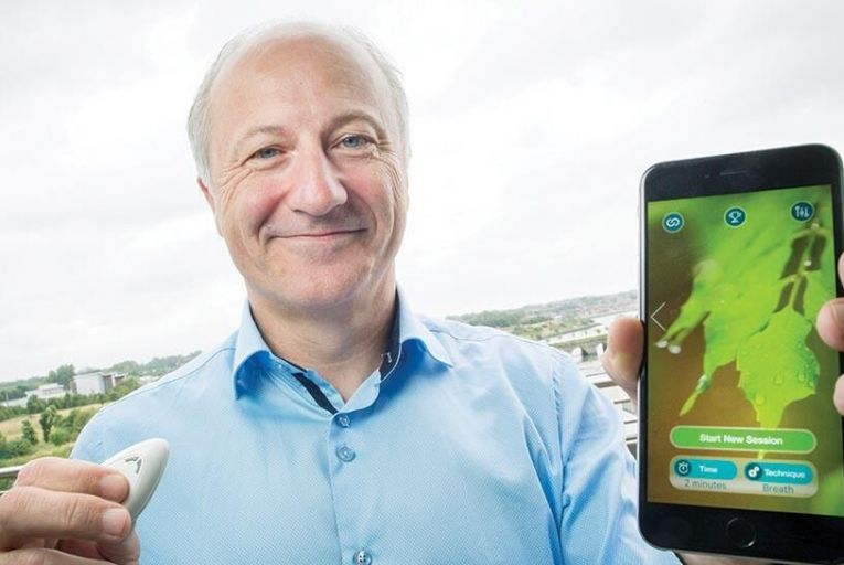 David Ingram, chief executive and co-founder of Galvanic Pic: Fergal Phillips