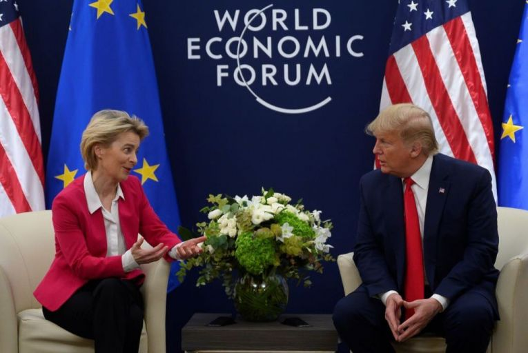 EU's trading partners must play fair on climate, says Von der Leyen
