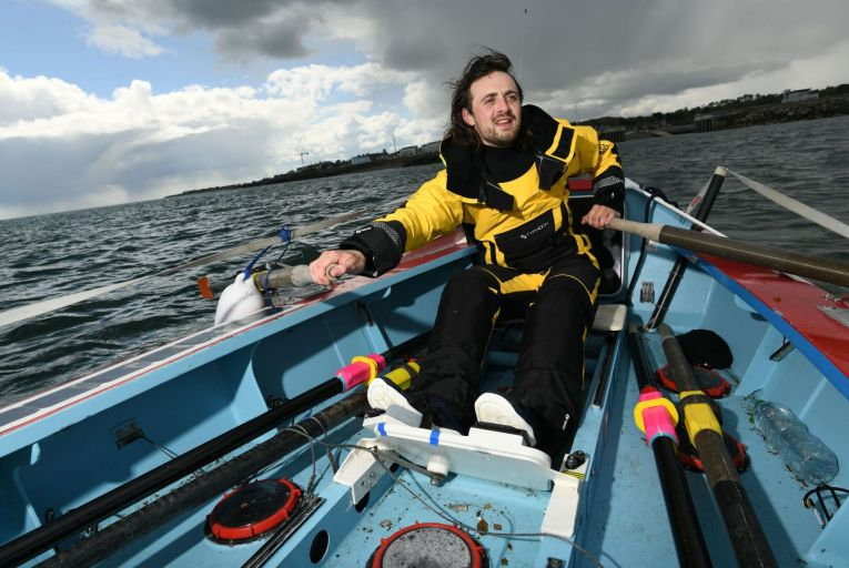 Interview: James Murray on preparing to row to Iceland