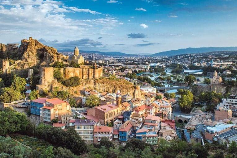 Tbilisi, the capital of Georgia