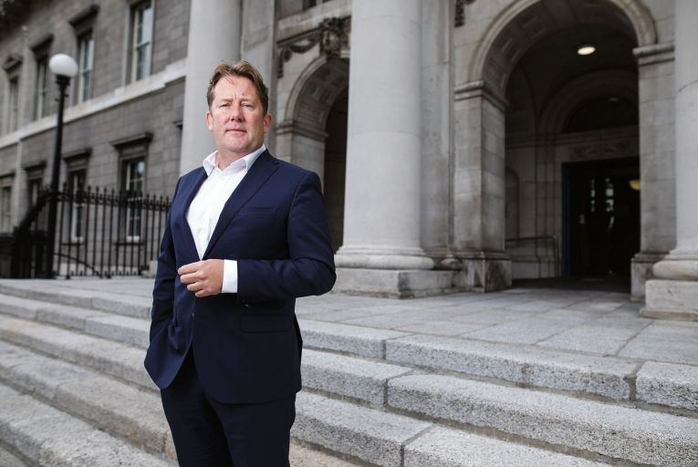 Darragh O\'Brien, the Minister for Housing, has promised rent reform legislation in the autumn to cover rent pressure zones, longer-term rents and rent increases. Picture: Fergal Phillips