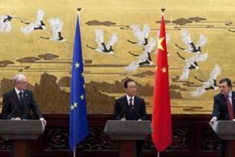 China pledges to help Europe