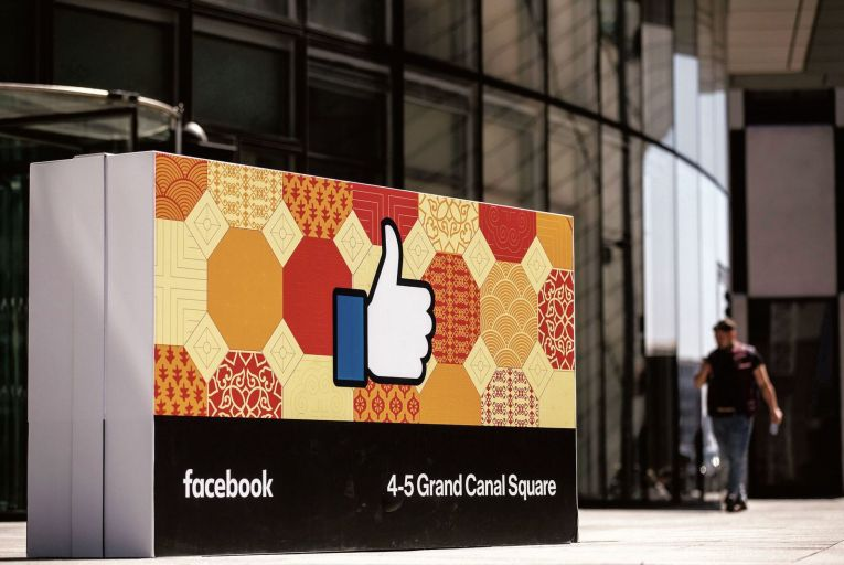 Facebook's European headquarters in Dublin: the tech giant's data gathering practices have led to concerns over citizens' privacy rights both in Europe and the US Pic: Bloomberg