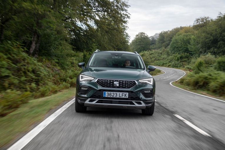 Visually, it's reasonably easy to spot a new 2021 model-year Ateca, especially if you're looking at the front of it