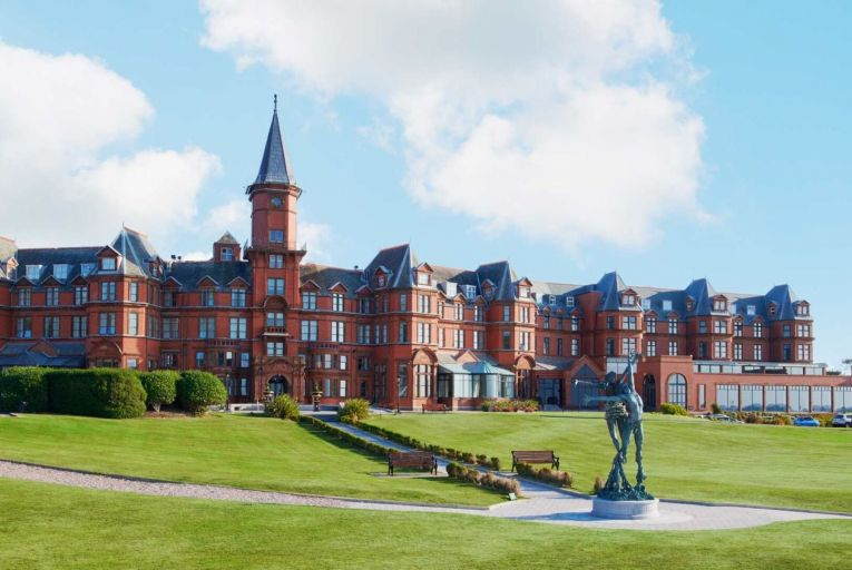 The five-star Slieve Donard Spa and Resort, which sold for £40 million to a US developer and hotel operator