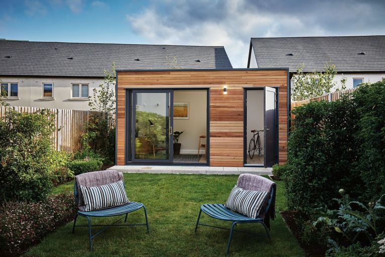 Cairn Homes' garden offices aim to promote a healthy work/life balance