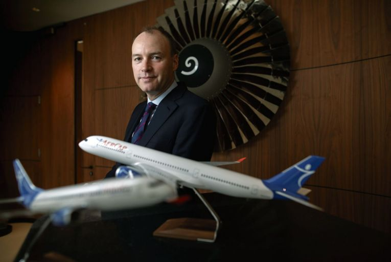 Aengus Kelly, chief executive of AerCap  PIc: Fergal Phillips