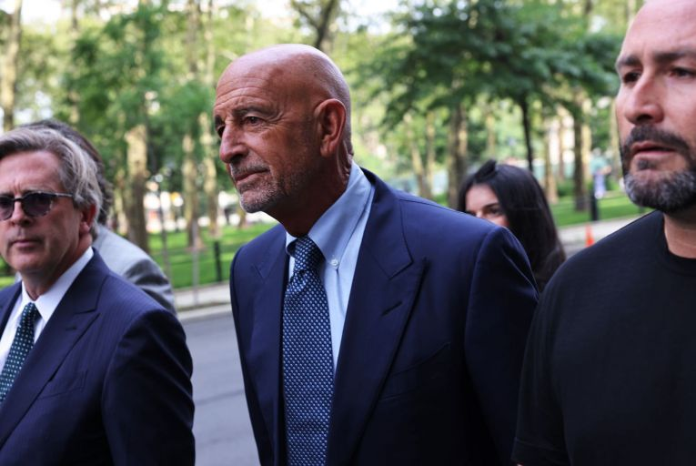 Tom Barrack, a close adviser to Donald Trump, may be called to testify as a witness in a legal case between Johnny Ronan's property group and Colony Capital. Picture: Getty
