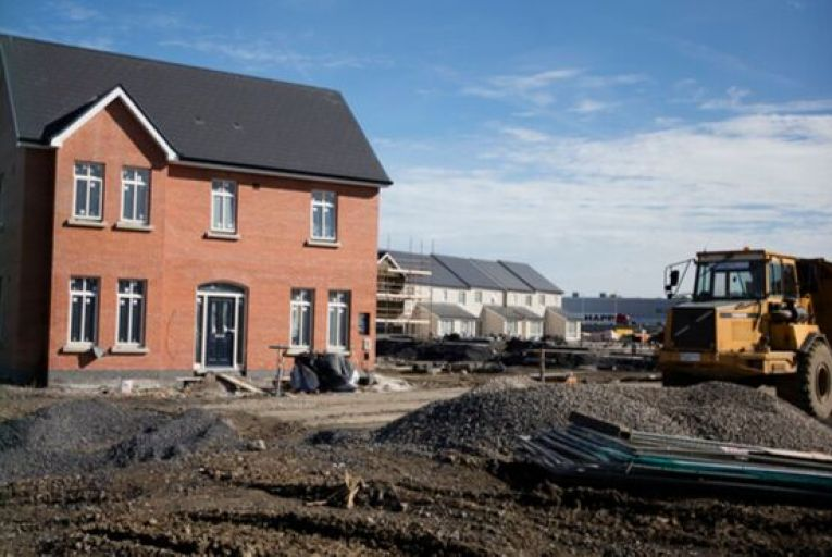 Some 13,335 units were completed in the nine months to the end of September 2020, down 10 per cent compared to the same period in 2019. Picture: Rollingnews.ie
