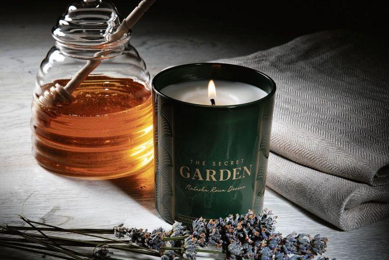 Natasha Rocca Devine's signature Secret Garden Candle