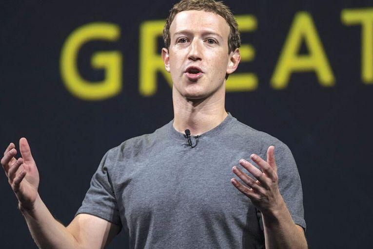 Mark Zuckerberg,  founder, Facebook Picture: Bloomberg