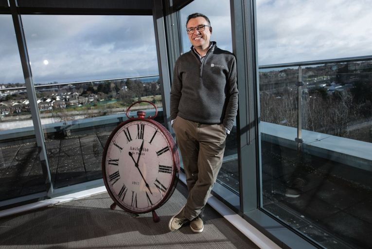 Morgan Browne is chief executive and founder of Milner Browne and Enterpryze: 'Create a big ambition that scares you and learn not to be afraid of it.' Credit: Fergal Philips