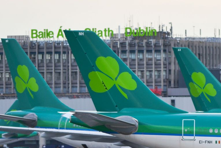 Aer Lingus's parent company International Airlines Group (IAG) reported a €1.1 billion operating loss for the first three months of 2021 as net debts soared to just under €12 billion. Picture: Artur Widak/NurPhoto